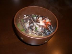 ブダイ(イガミ)の味噌汁