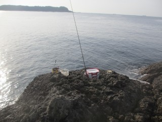 前半の釣り座