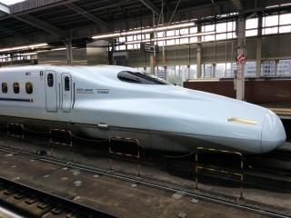 新幹線にて九州へ!