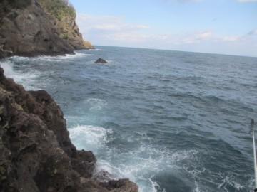 ナガウロから沖向きを眺める